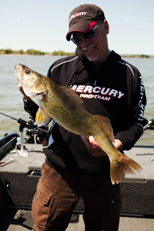 Fishing for Walleye in Deep Water