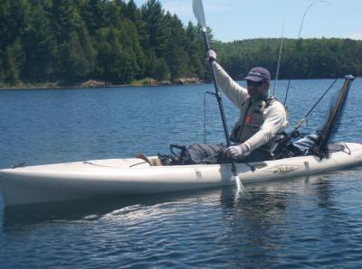 Kayak Fishing Using Your Feet?