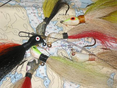 Hair Jigs And Spring Pike.