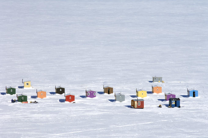 Ontario Launches Online Ice Hut Registration