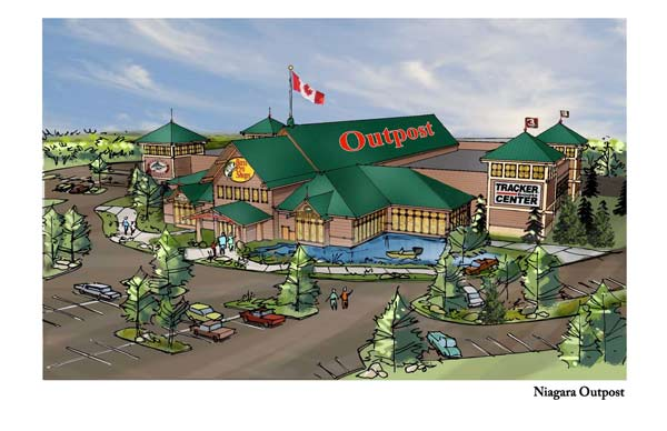 Bass Pro Shops Announces Plans to Open Third Canadian Store in Niagara-On-The-Lake, Ontario